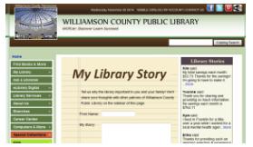 Tell My Library Story